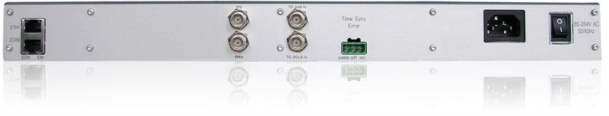 M300/TCR : IRIG/AFNORタイムコード・レシーバ付きNTPタイム・サーバ